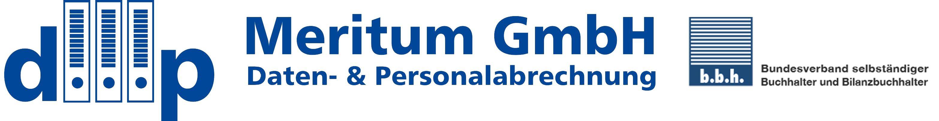 Logo von Meritum GmbH Daten- und Personalabrechnung